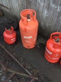 Empty flo gas 19kg propane bottle