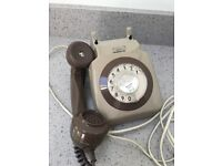 Telephone - dial type. Old fashioned.