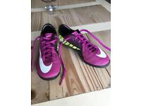 Nike AstroTurf trainers size 3 (35.5)