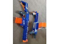 2x nerf guns