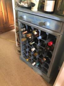 Wine Rack with matching pictures