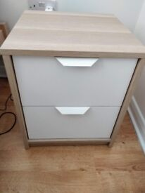 2 x Bedside tables Ikea