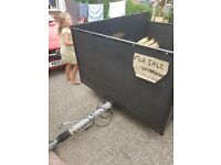 Big trailer for sale with tailgate