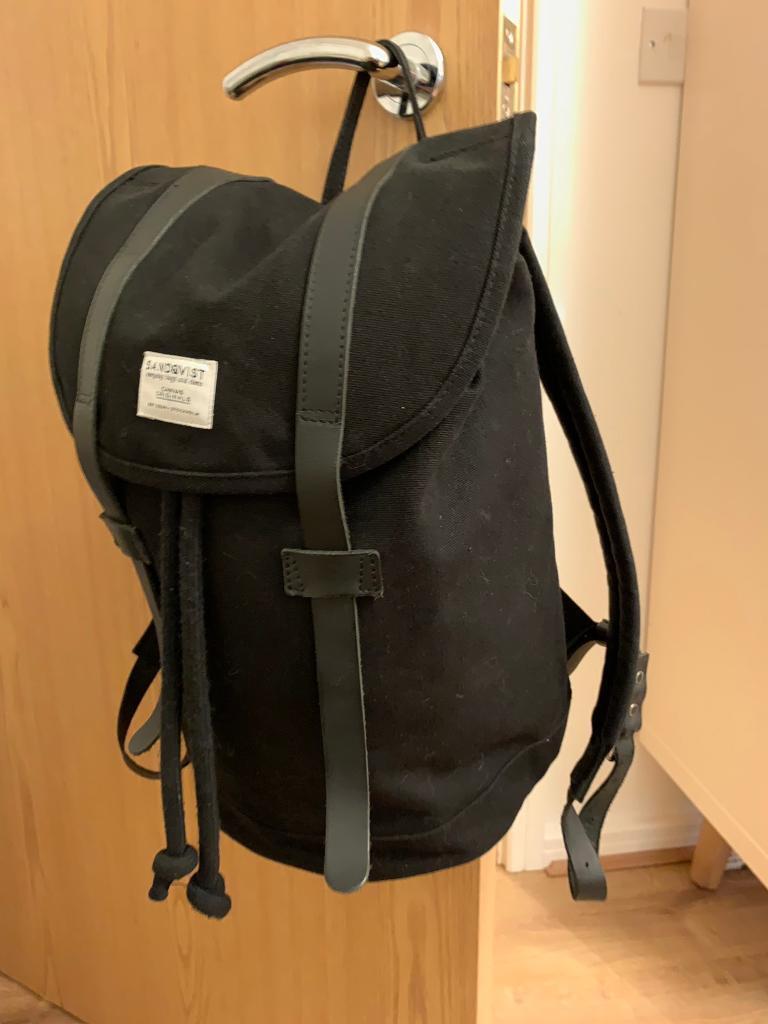 Sandqvist Stig Black Bag  423a410019