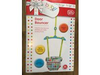 CHAD VALLEY CIRCUS FRIENDS DOOR BOUNCER - pristine condition - hardly used