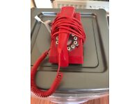 Retro red phone - £8