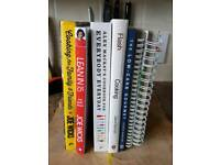 Cook books (healthy eating/Great tasting!)