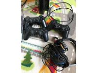 Ps3 80gb+ games and 3 controllers+headphones