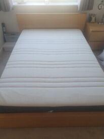 Ikea Hovag Double mattress - like new!