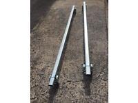 Ford transit aluminium roof bars cross bars