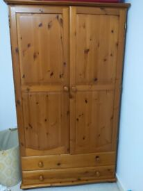 8 month old wardrobe large in excellent condition