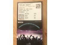2x taylor swift tickets for Friday 22 June Wembley