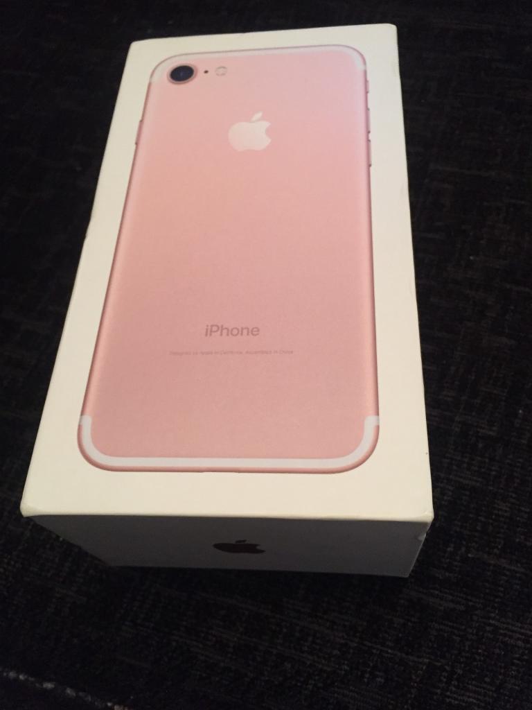 iPhone 7 empty box