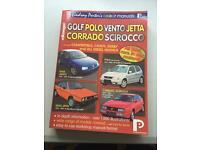 Lindsay Porters colour manual VW golf polo Jetta bento corrado scirocco