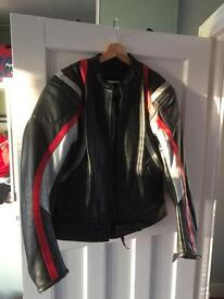 Buffalo motorcycle leather jacket
