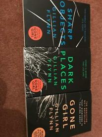 3 brand new Gillian Flynn books