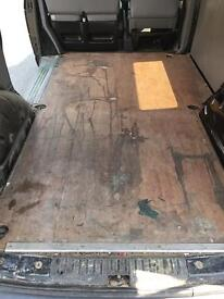 VW Transporter T5 SWB Ply Floor