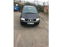 *BARGAIN* SEAT Alhambra 1.9 TDI PD SX 5dr DVD PLAYER