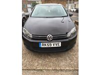 2009 VW GOLF 1.6 SE TDI BLUEMOTION TECHNOLOGY. (5 door hatchback) £20 TAX
