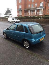 Vauxhall corsa 1.4 blue 2004