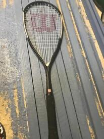 Wilson hammer pro squash racket