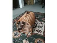 Wicker cats basket never used.