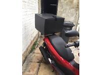 Honda vision pcx pizza box and rear rack free fitting