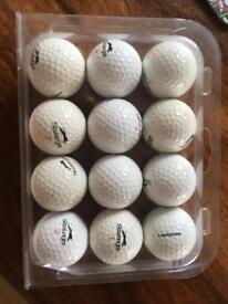 Pack of Slazenger golf balls