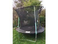 10ft free trampoline