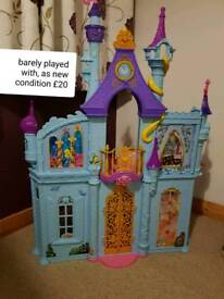 Princess castle and used shoes