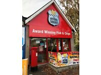 Team leaders \ Friers & Counter staff - Fish & Chips