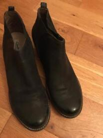 Clarks ankle boots size 8