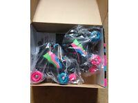 NEW Rio Roller Classic II Quad Roller Skates - Passion UK size 3