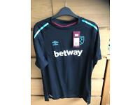 West Ham United ladies away shirt size 18