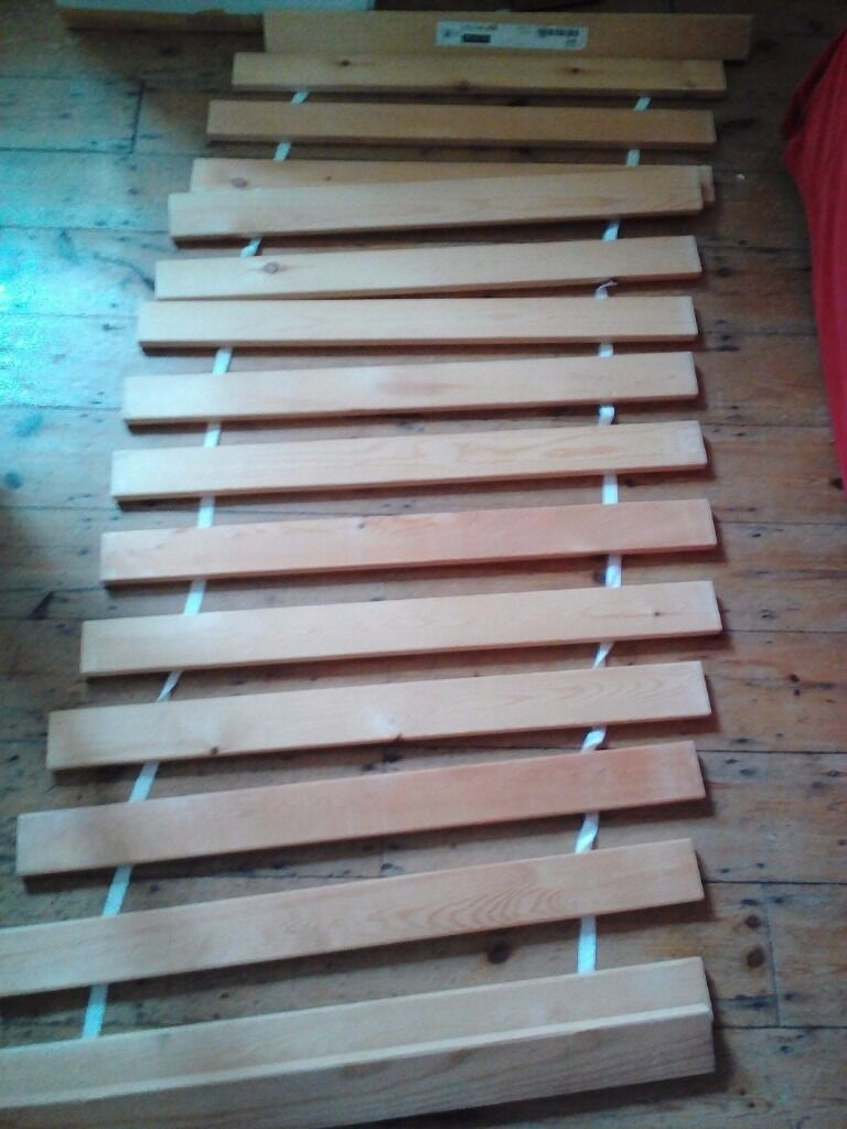 slatted single bed base ikea sultan lade in redhill surrey gumtree. Black Bedroom Furniture Sets. Home Design Ideas