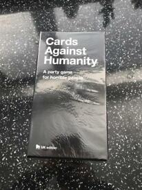 Brand new sealed cards against humanity