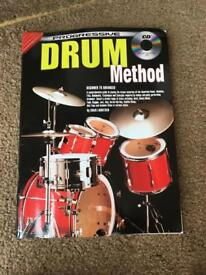 Drum method book and CD