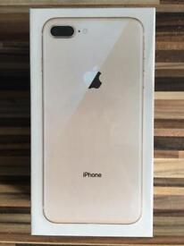 Apple IPhone 8 Plus 64GB Gold *BRAND NEW*