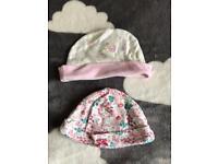 Baby girls hats