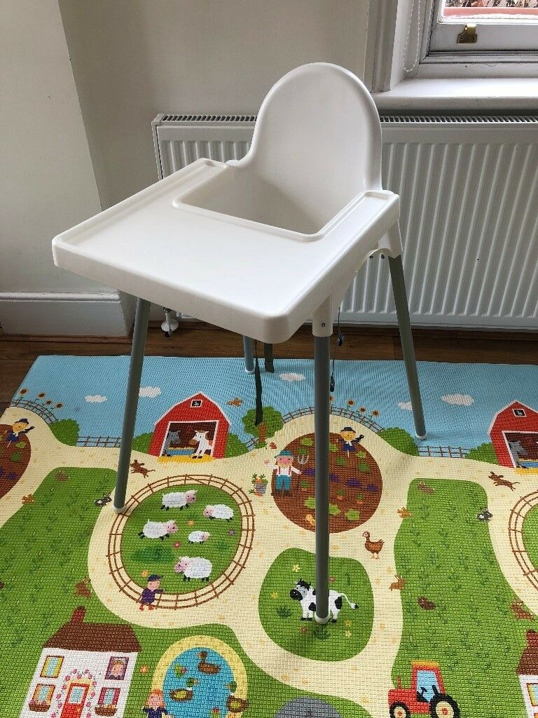 Ikea Antilop Highchair And Tray Perfect For Baby Lead