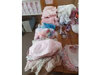 Baby girl clothes newborn to 0 -3 mth
