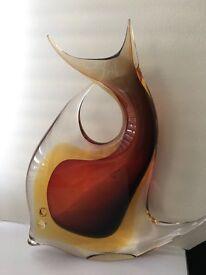 Murano Fish Ornament 12 inches high