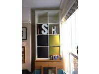 White IKEA Expedit / Kallax shelves, 2x4 spaces, EXCELLENT condition