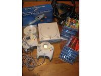 SEGA Dreamcast + games + accessories