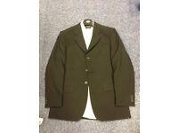 Men's Full Suit, Black trouser suit with John Rosher Shirt