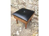 Sherborne sewing box/footstool