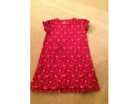 Girls Gap floral print dress age 2-3 years