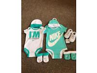 0-3 month baby Nike sets and trainers