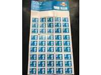 2nd Class Large Letter Stamps X 45