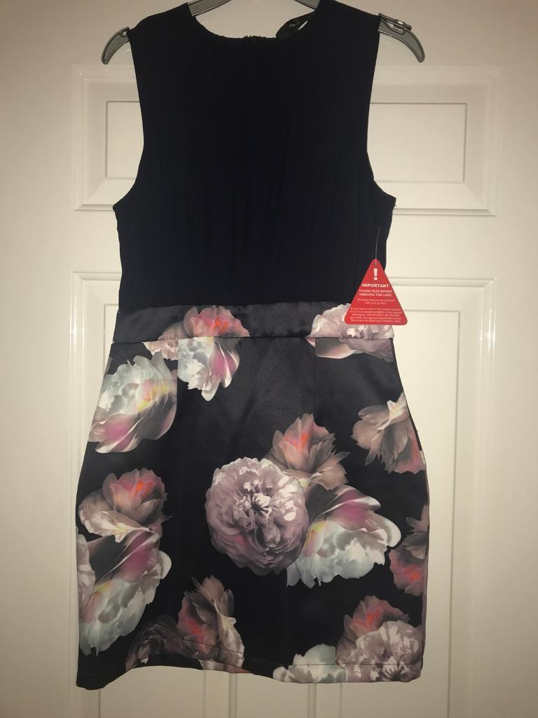 High quality brand new fitted dress. Xmas party. 10